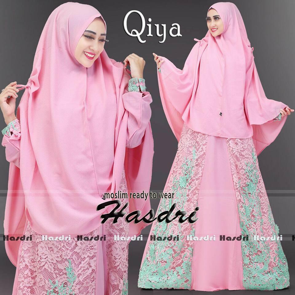 Qiya Premium By Hasdri Melody Fashion Aretha Tunik 4warna