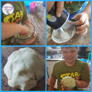Make scented playdough to use in the classroom