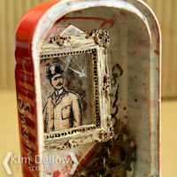 Steampunk gent in a sardine tin by Kim Dellow
