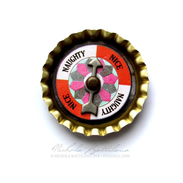 Bottle Cap Spinners with Download - Nichola Battilana