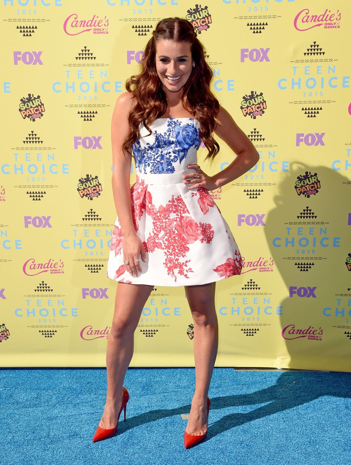 Lea Michele – 2015 Teen Choice Awards in Los Angeles