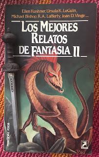 Portada del libro Los mejores relatos de fantasía II, de varios autores