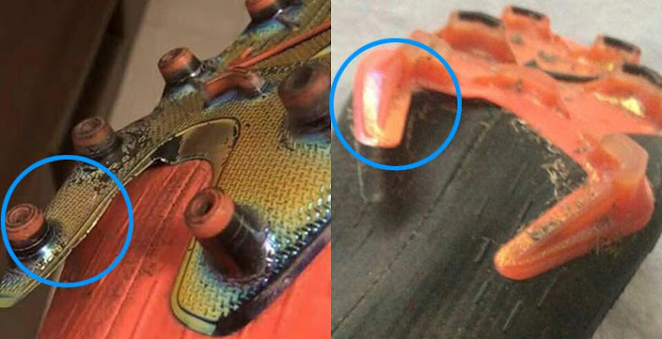 check out 675e6 79421 Update: All-New Nike Mercurial 360 Boots Sole Plate Breaks ...