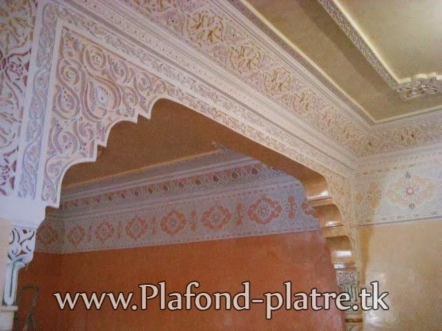 Décoration Salon Marocain En Platre