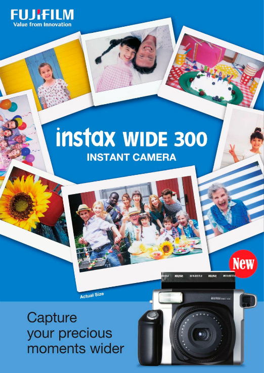Instax Wide 300 Fujifilm - Showroom Tendencias Comuniones 2017 - La Comunion de Noa