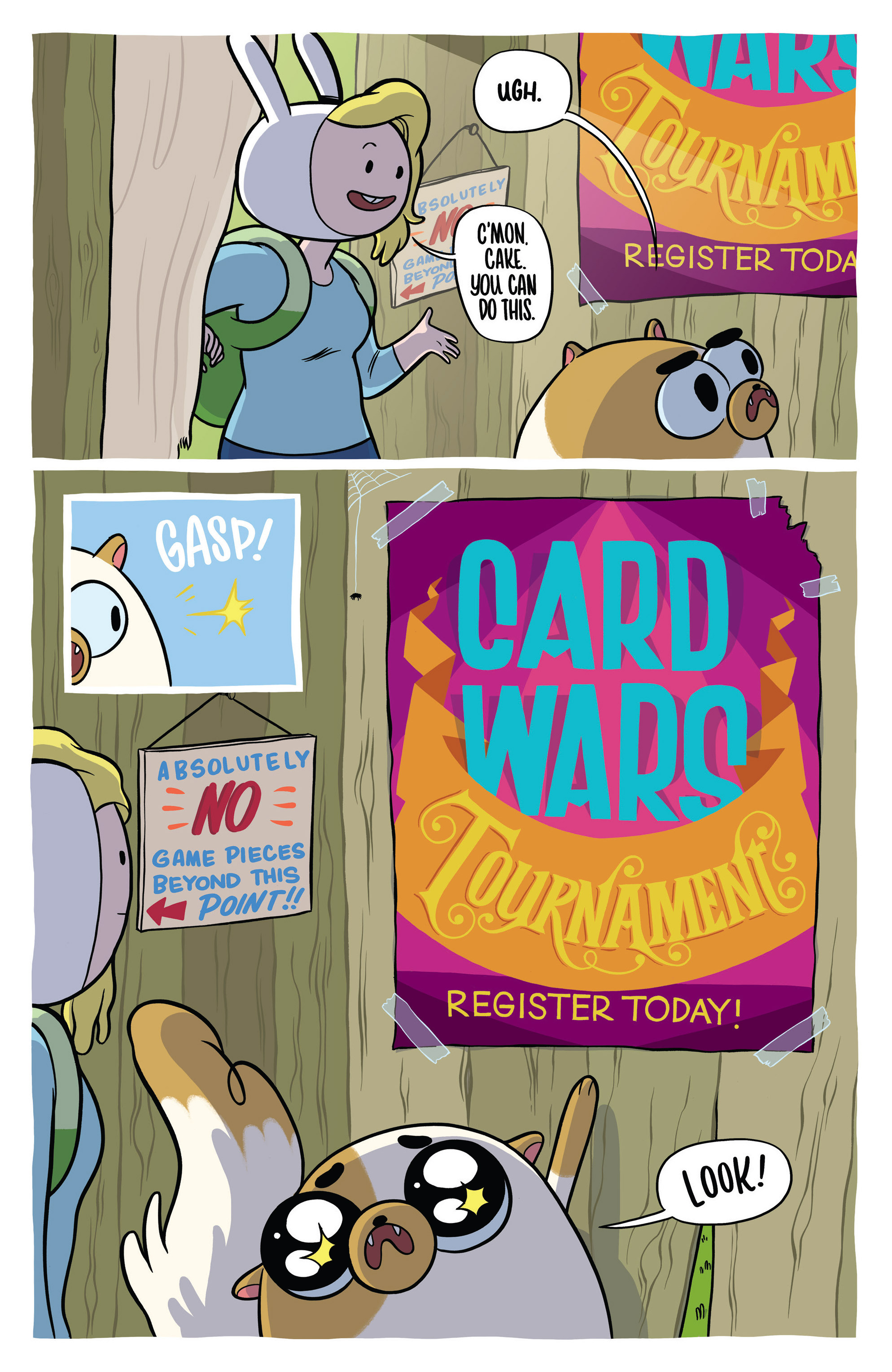 Read online Adventure Time Fionna and Cake Card Wars comic -  Issue #1 - 13
