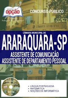 Apostila Câmara de Araraquara - Assistente de Comunicação