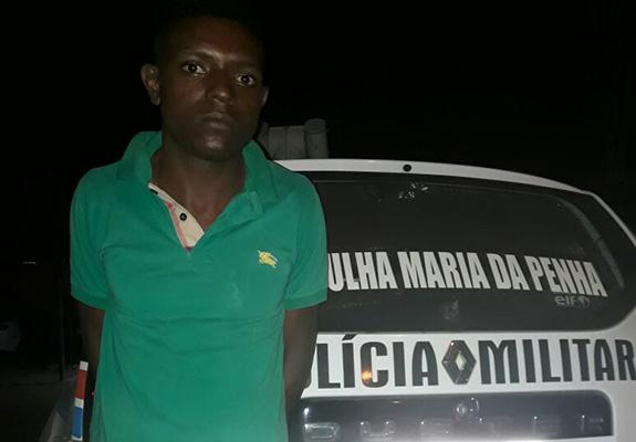 Usando tornozeleira eletrônica, homem é preso após espancar mulher