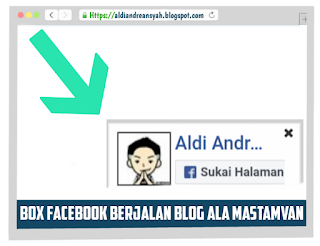 Box Facebook Berjalan Ala Mastamvan