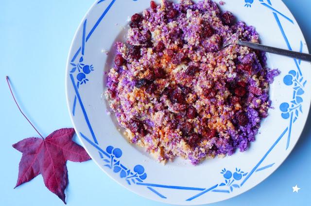 salade chou fleur cru vegan sans gluten