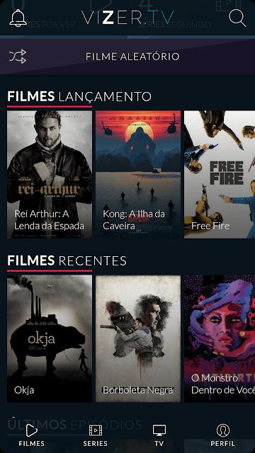Vizer.TV - Filmes e Series Grátis - V2.2 - Download Apk