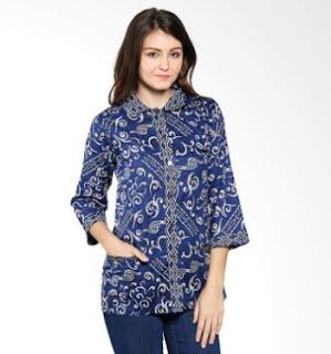 Baju Seragam Batik Kerja