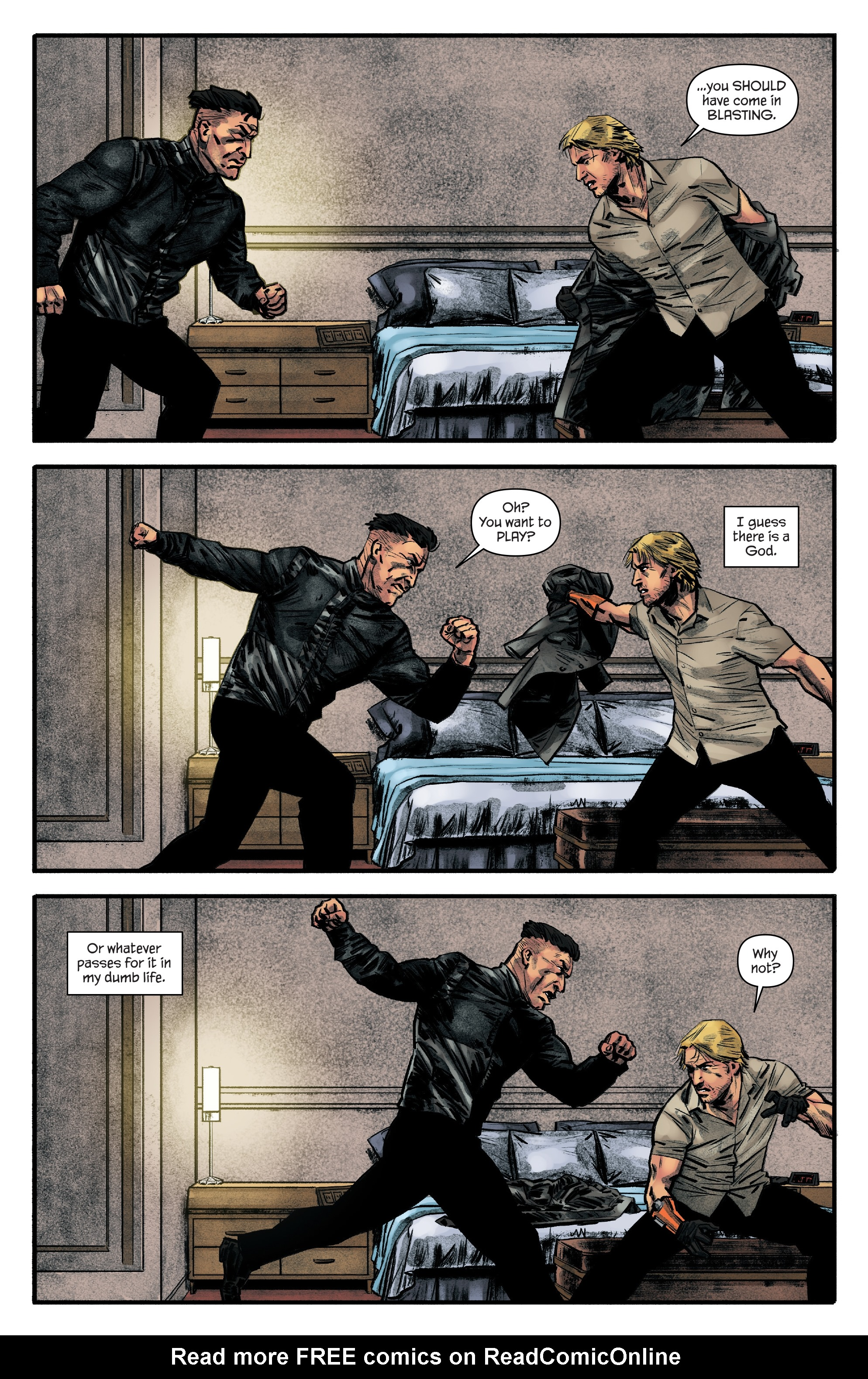 Read online James Bond: Felix Leiter comic -  Issue #6 - 12