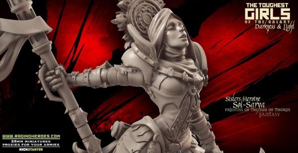 Raging Heroes: Sol-Sarya