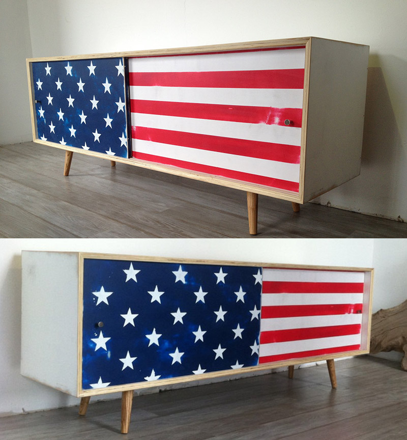 Brand new 10 Pieces Of Perfectly Patriotic Furniture For The Fourth of July  FR24
