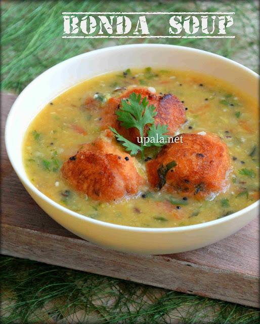 Karnataka special Bonda Soup (Restaurant Style) (No Onion No Garlic)