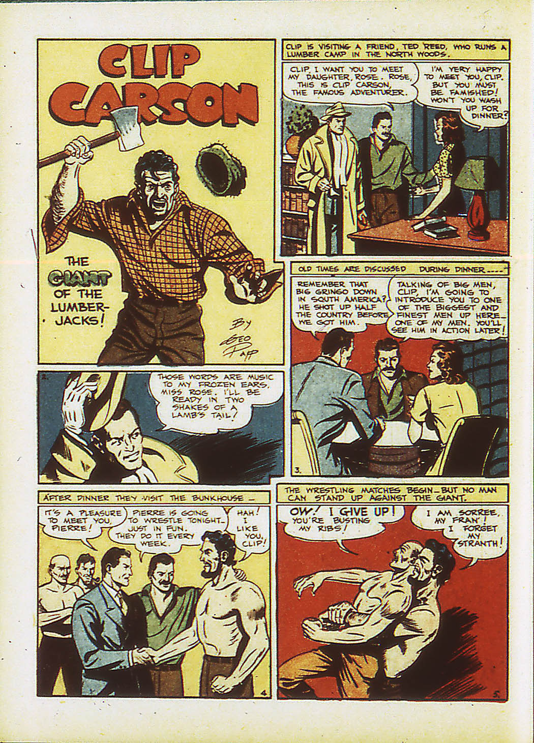Read online Action Comics (1938) comic -  Issue #34 - 49