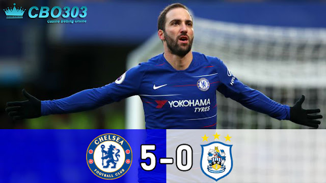 Video Highlights dan Cuplikan Gol Chelsea vs Huddersfield Town