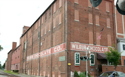 Old Wilbur Chocolate Factory Building in Lititz Pennsylvania