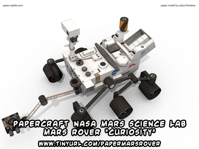 Ninjatoes' papercraft weblog: D/L #papercraft NASA Science ...