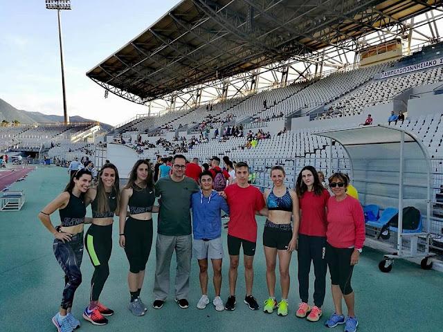 Επιτυχίες του ΣΔΥ Αργολίδας στο Διασυλλογικό πρωτάθλημα στίβου Ανδρών-Γυναικών