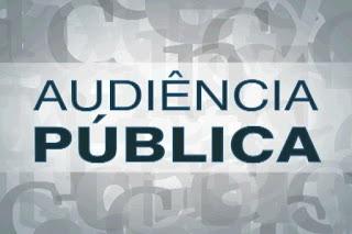 Audiências Públicas sobre PPA e LDO serão no dia 26 de abril.