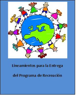 Requisitos para entregar programa de recreación.