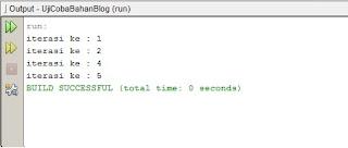 Coding Perintah Break dan Continue Pada Java Netbeans - www.helloflen.com