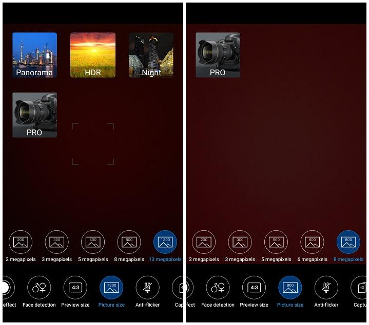 Primo HM4+ camera settings ফিঙ্গারপ্রিন্ট সেন্সর ও ৮ মেগাপিক্সেল ফ্রন্ট ক্যামেরার Walton Primo HM4+ এর হ্যান্ডস-অন রিভিউ