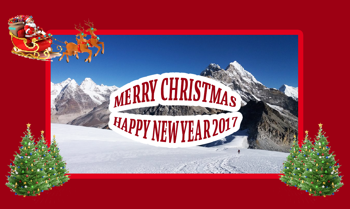 Christmas Card For Trekking Companies All Blog Solution