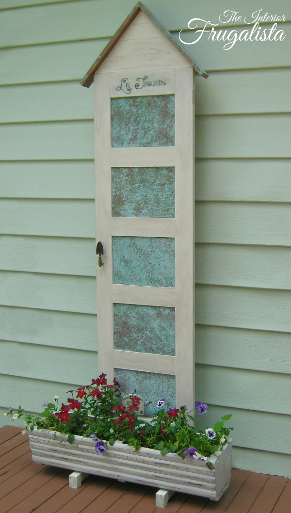 5-Panel Door Flower Planter