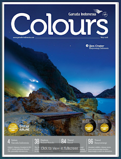 Colours, Garuda In-Flight Magazine