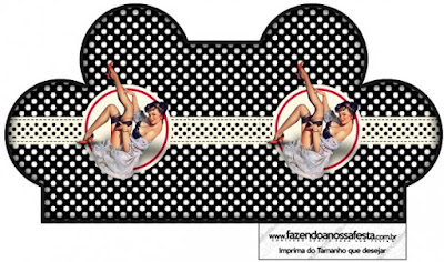 Pin Up in Red, White and Polka Dots: Free Printable Boxes.