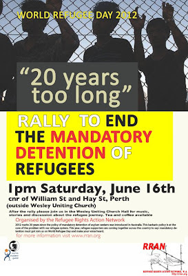 World Refugee Day - Sat 16 June
