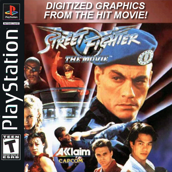 Street Fighter - The Movie - PS1 - ISOs Download