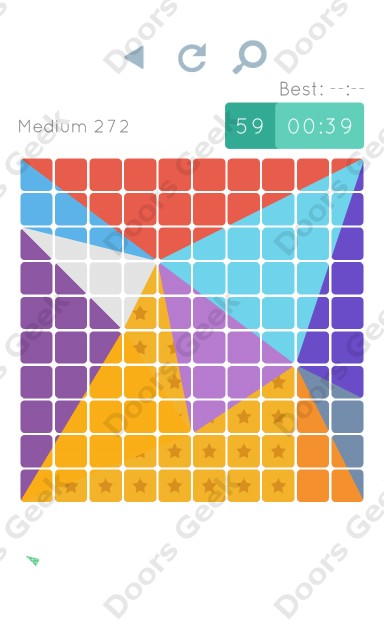 Cheats, Walkthrough for Blocks and Shapes Medium Level 272