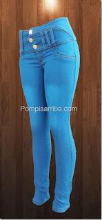 Jeans colombianos baratos pantalones de mezclilla originales para dama 2016