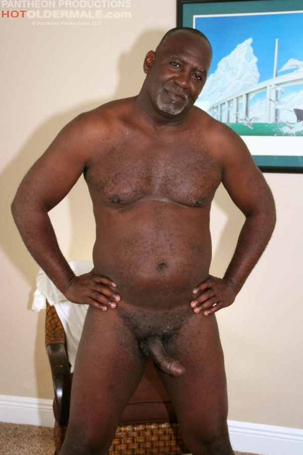 Naked black dad
