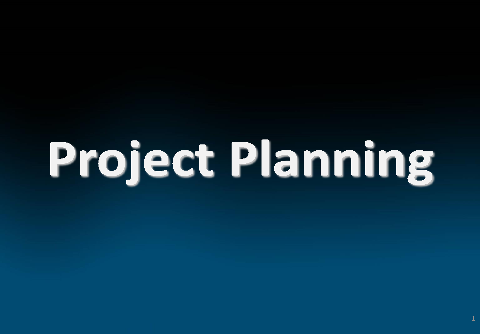 Introduction to Project Planning, Project Life cycle