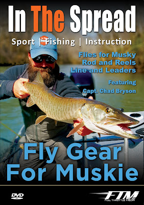 in the spread fishing videos musky muskie chad bryson flies