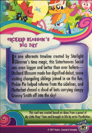 MLP Orchard Blossom's Big Day Series 4 Trading Card