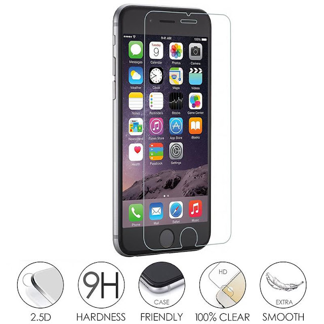 9H 2.5D PremiumTempered Glass iPhone Screen Protector