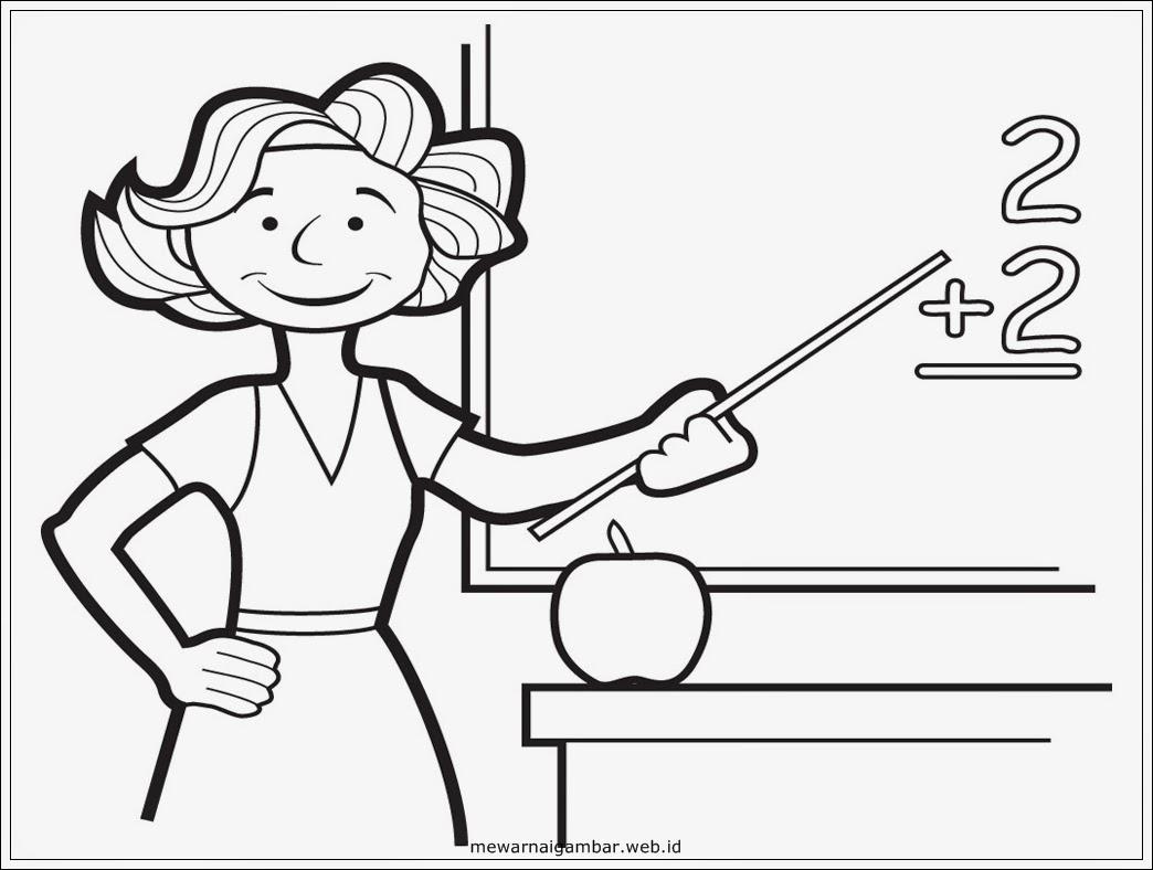 Gambar Guru Perempuan Yang Sedang Mengajar Wwwtollebildcom