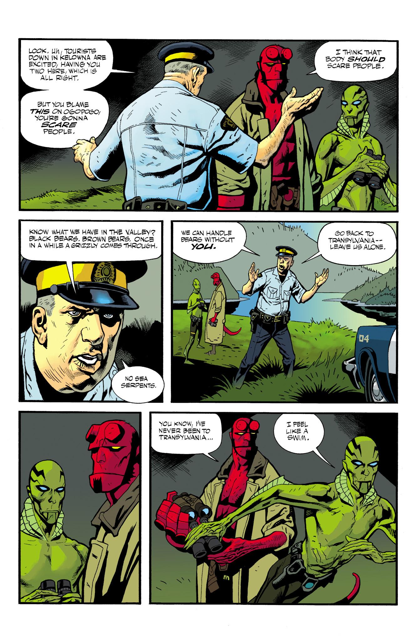 Read online Abe Sapien comic -  Issue #23 - 9
