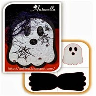 Free Ghost Shaped Card Cut File