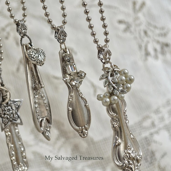 silverware handle necklaces