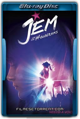 Jem e as Hologramas Torrent (2016) - 720p e 1080p BluRay Dual Áudio