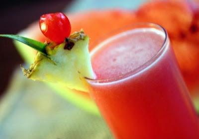 Suco de melancia light
