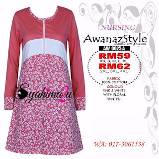 T-Shirt-Muslimah-Awanazstyle-AW0025A