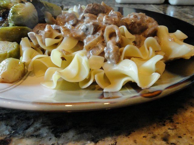 Beef Stroganoff Recipe scratch the original photo from 2011 from Serena Bakes Simply From Scratch.